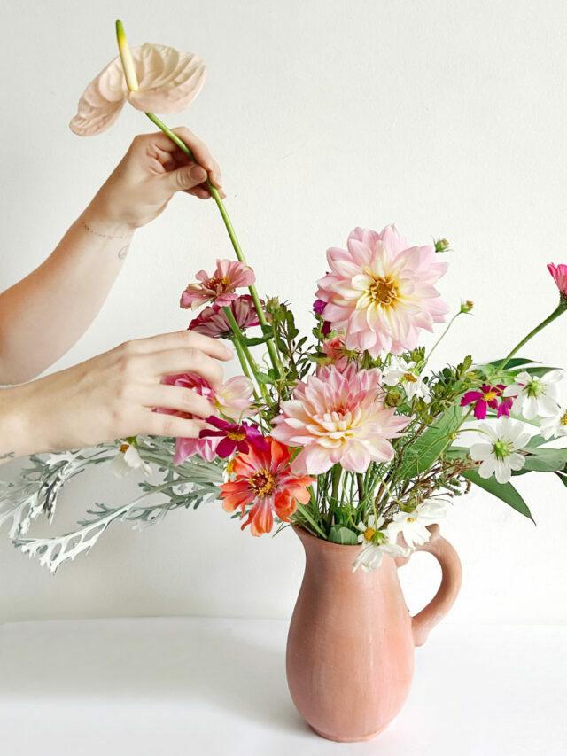 Guia Prático de Arranjos Florais